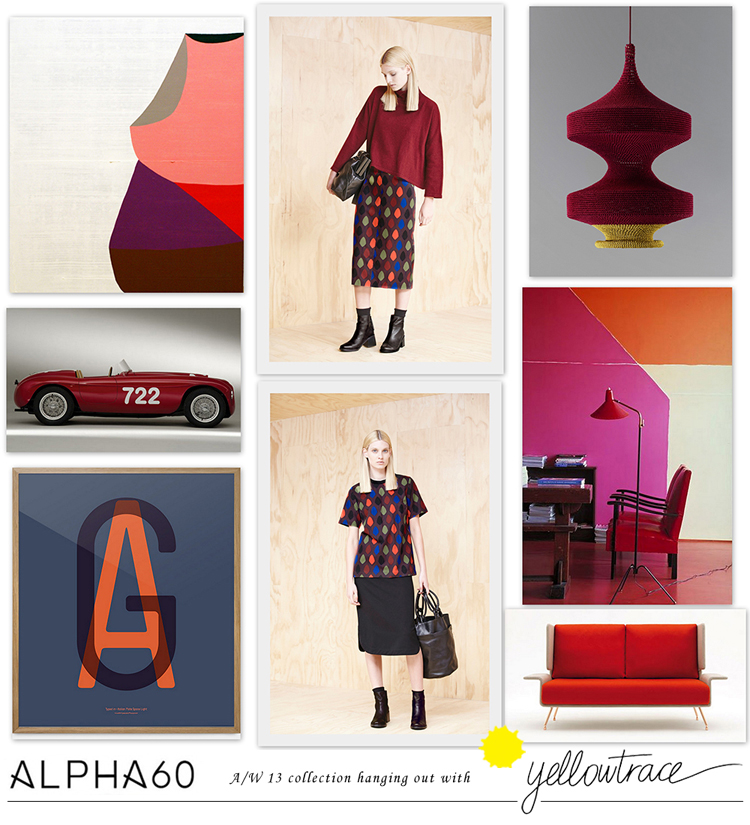 Yellowtrace Promotion // Hanging Out in Alpha60 Autumn/Winter 2013 Collection.