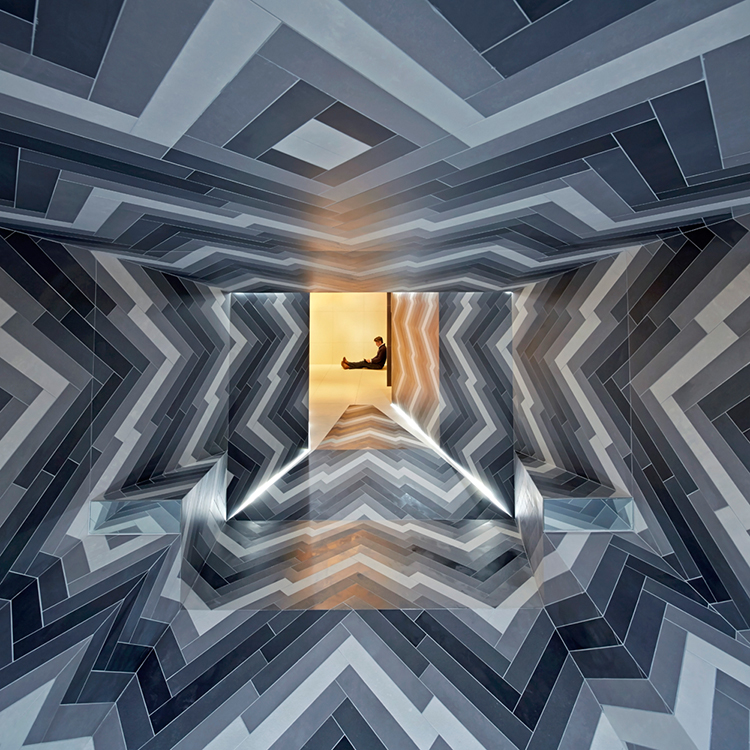 Pulsate installation design by Lily Jencks & Nathanael Dorent // Capitol Designer Studio, London.