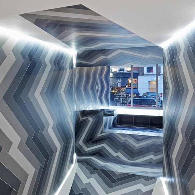 Pulsate installation design by Lily Jencks & Nathanael Dorent at Capitol Designer Studio, London | Yellowtrace.