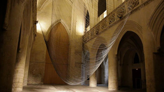 Caten kinetic sound installation by David Letellier // Video.