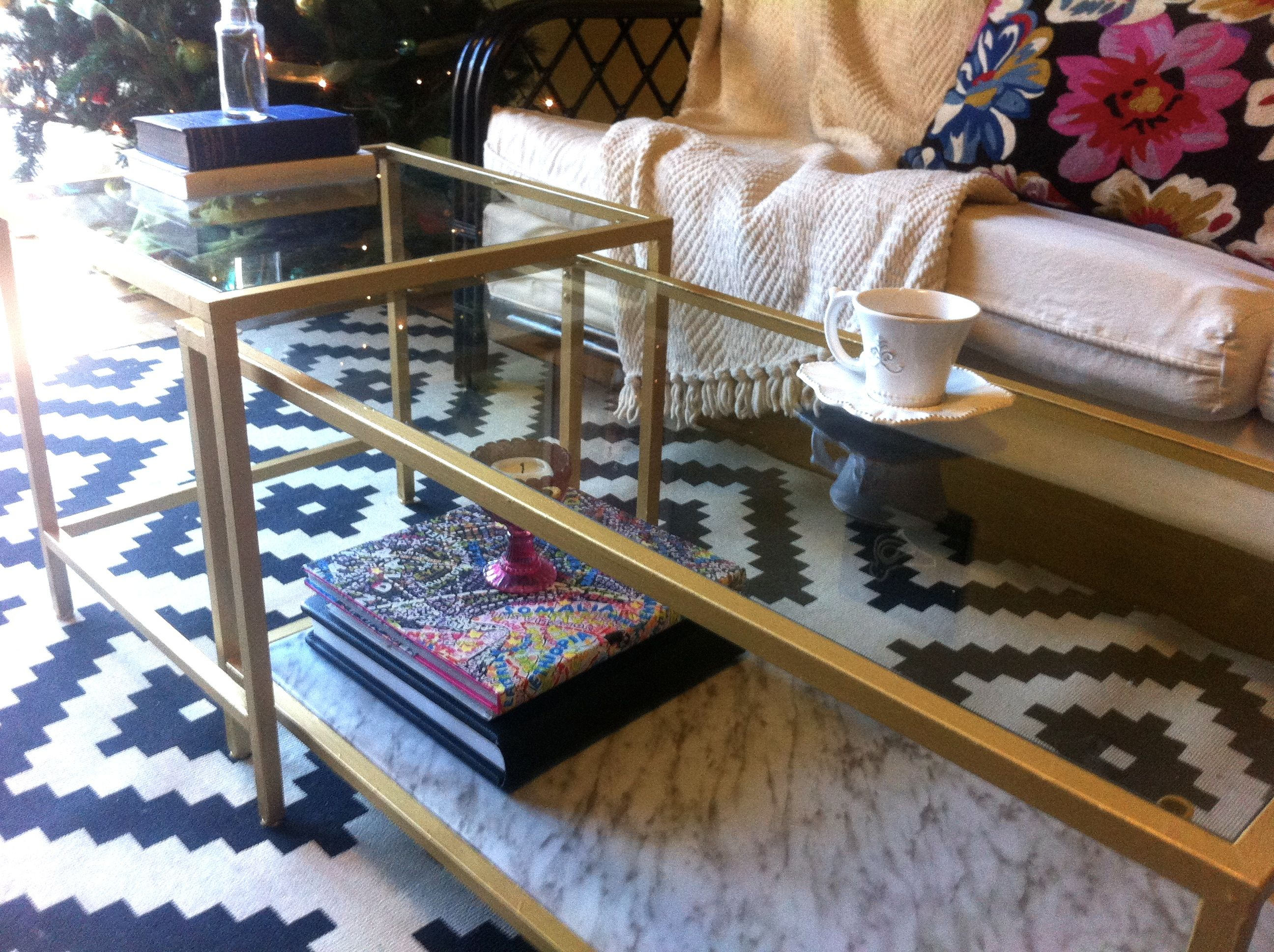 A Cheap Ikea Coffee Table Turned Glam The Next Dinner Party
