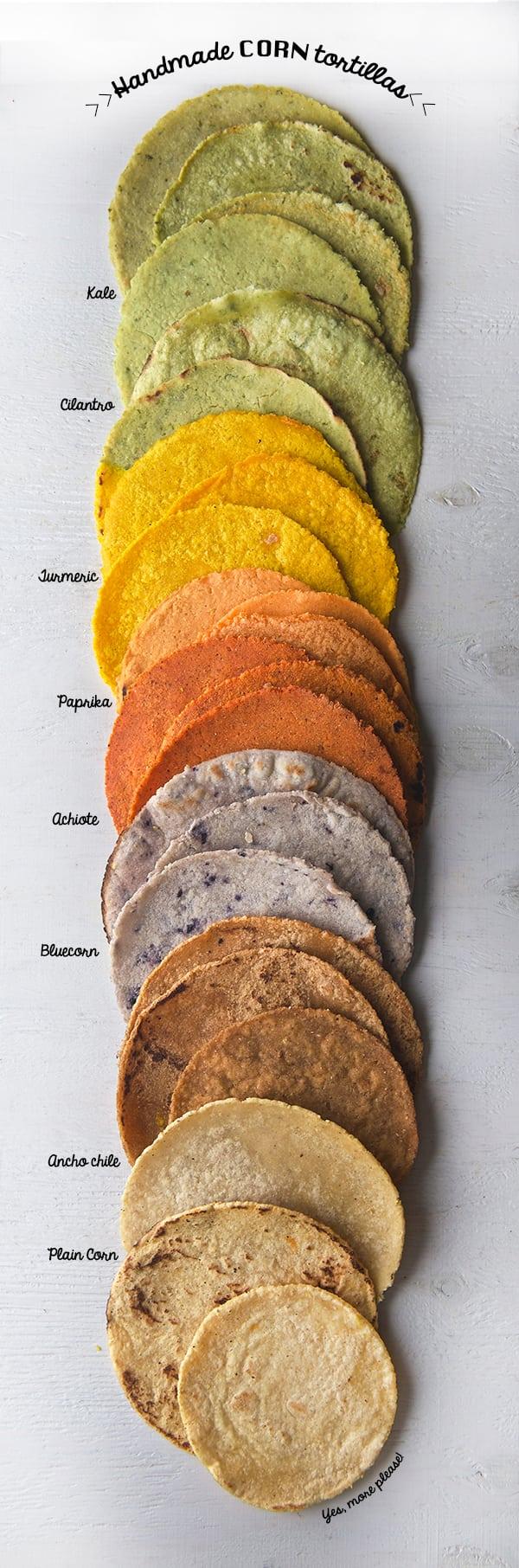 How To Make Corn Tortillas Recipe — Dishmaps
