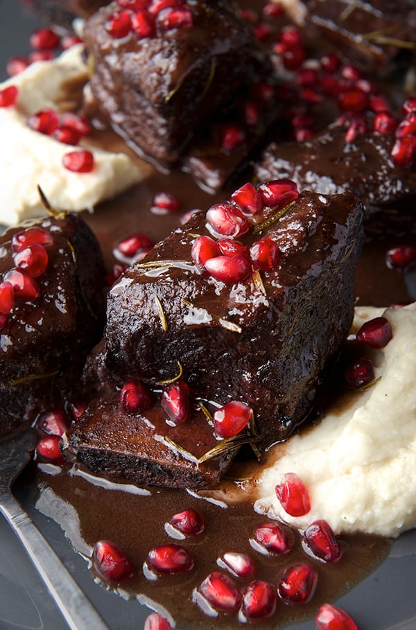 Braised Short Ribs in Pomegranate and Tempranillo - Yes ...