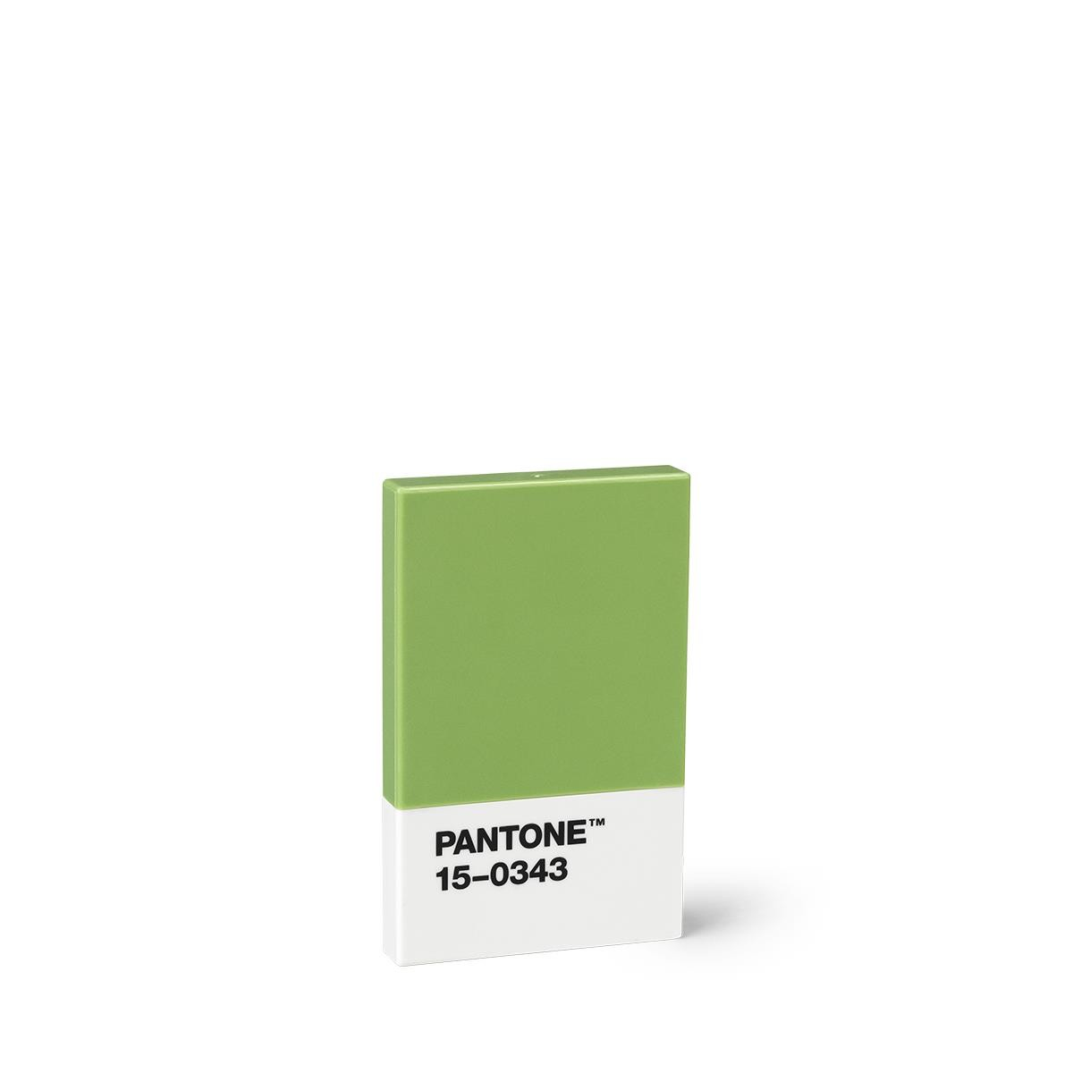 Pantone Grün Credit & Business Card Holder - Green 15-0343 Pantone™ Office Products