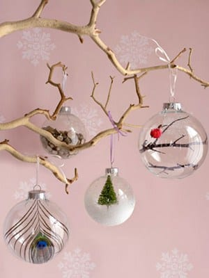 10 DIY Christmas Ornaments You Can Make In 5 Minutes - Yes Missy - unique christmas decorations