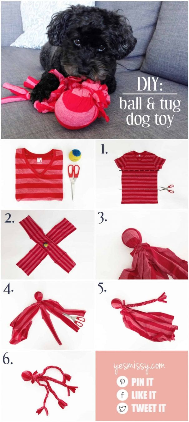 Hondenspeeltjes Maken What To Do With Old T Shirts 15 Ways To Upcycle Your Old