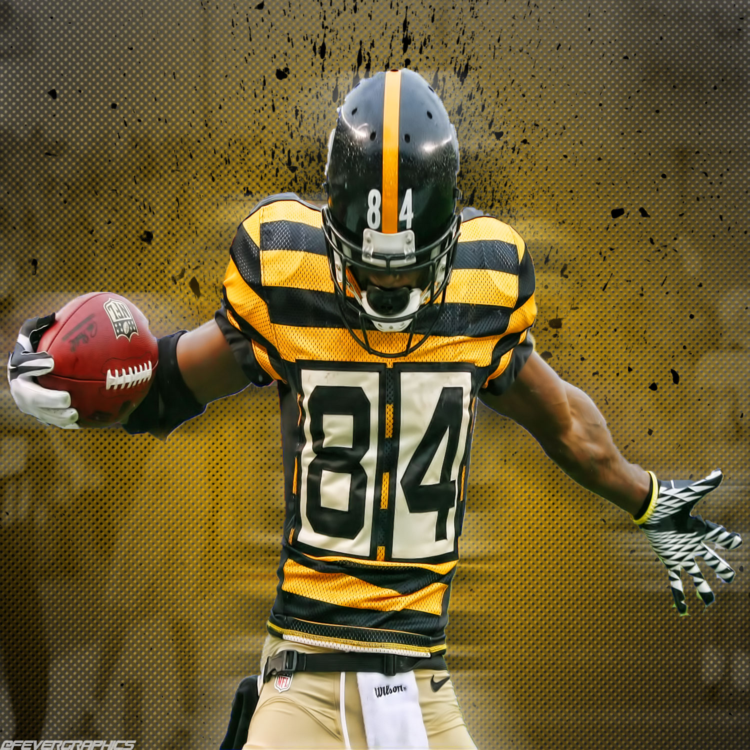 Pittsburgh Steelers Iphone Wallpaper Antonio Brown Wallpapers High Quality Download Free