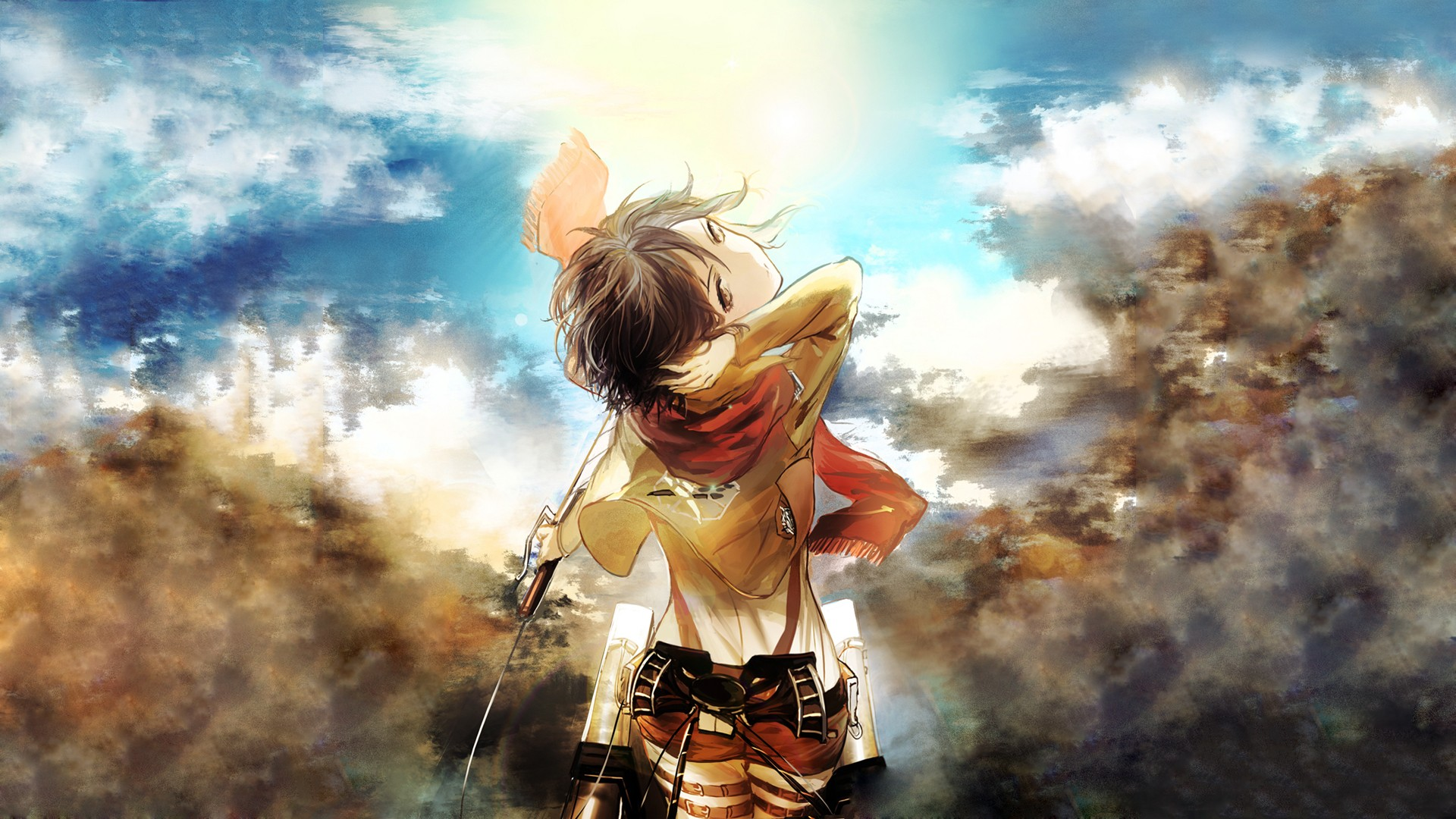 Kingdom Hearts Iphone Wallpaper Attack On Titan Wallpapers High Quality Download Free