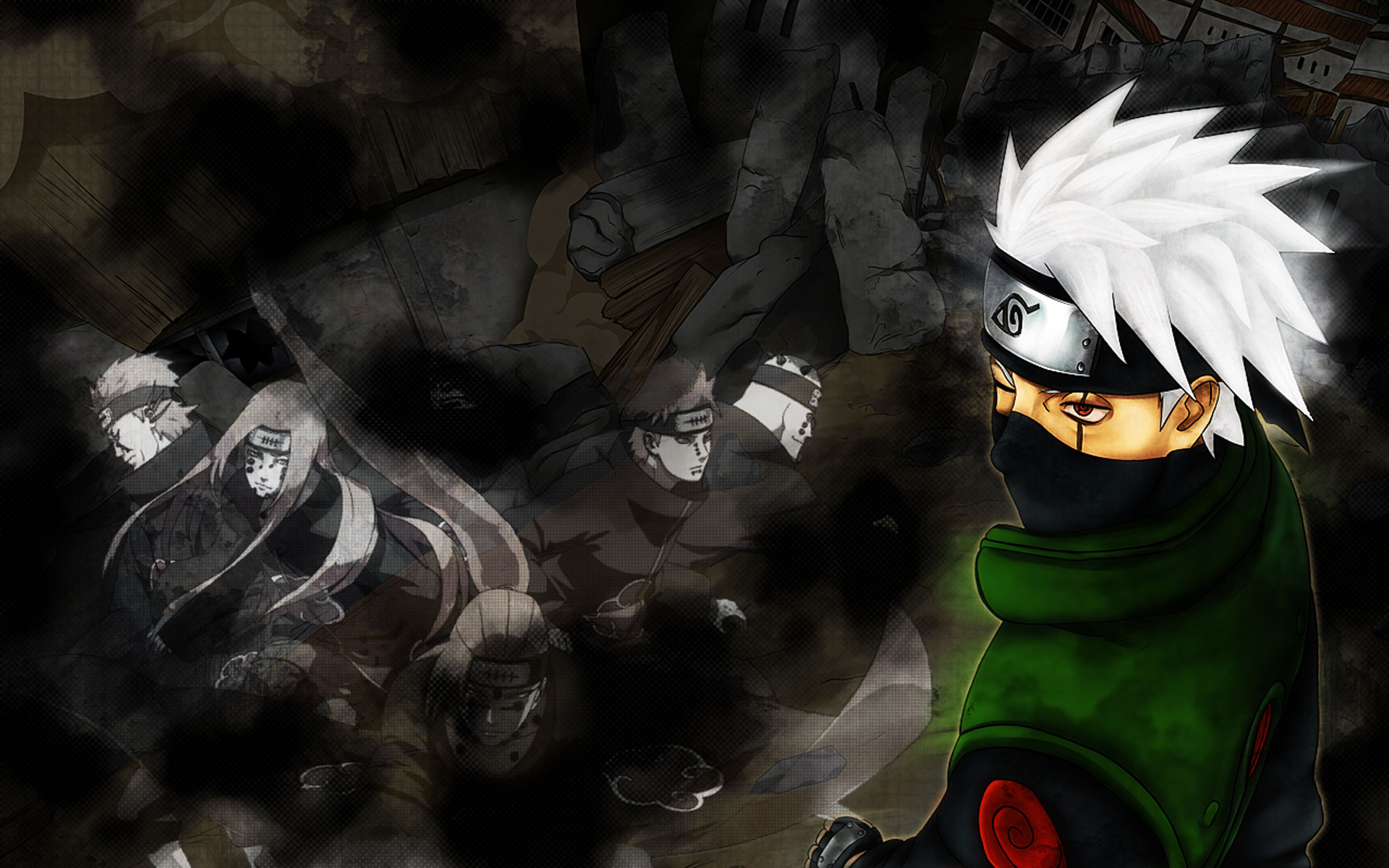 Tobi Wallpaper 3d Hatake Kakashi Wallpapers High Quality Download Free