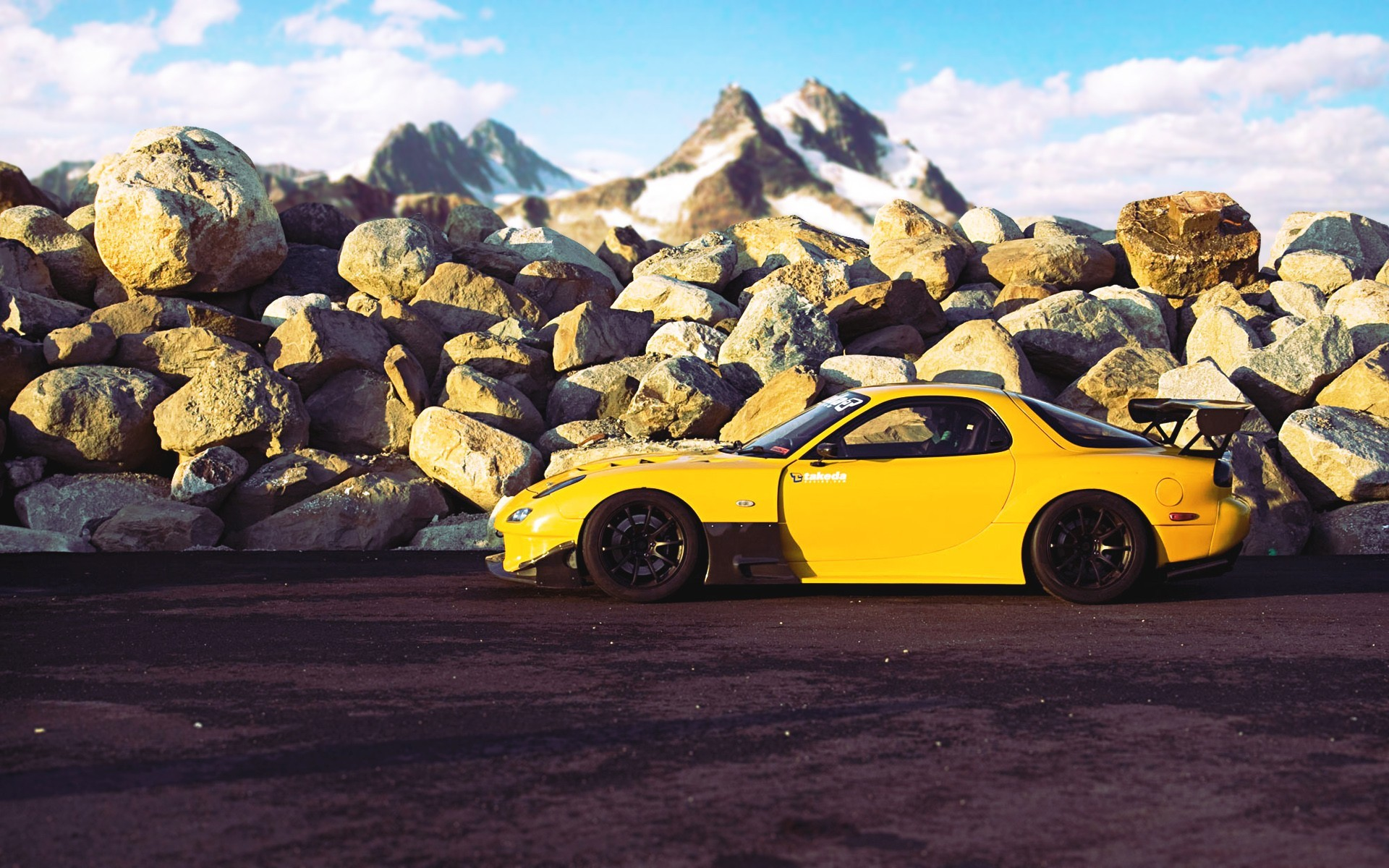 Stanced Car Iphone Wallpaper Mazda Rx 7 Wallpapers High Quality Download Free