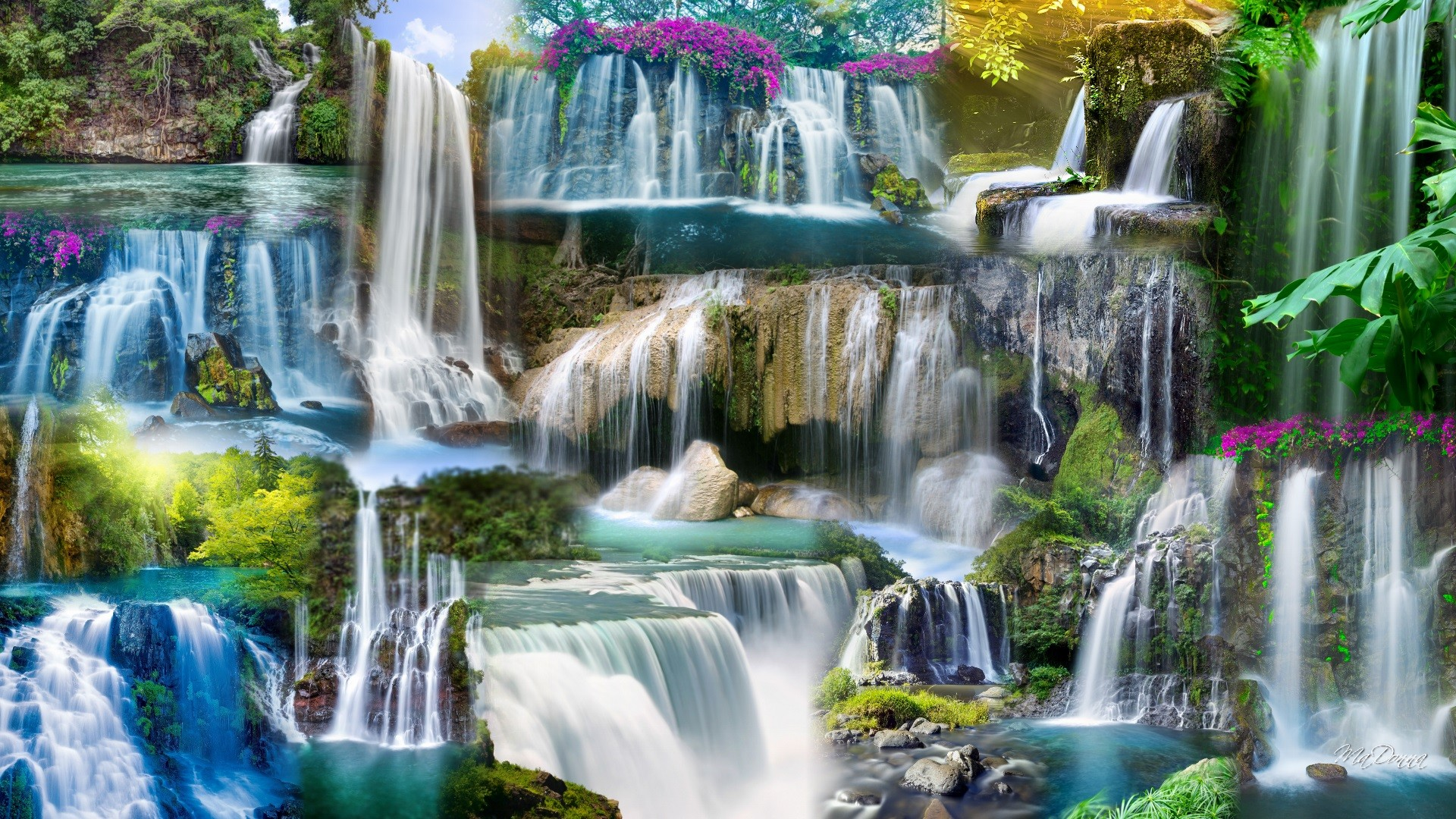 Niagara Water Falls Desktop Wallpaper Waterfall Wallpapers High Quality Download Free