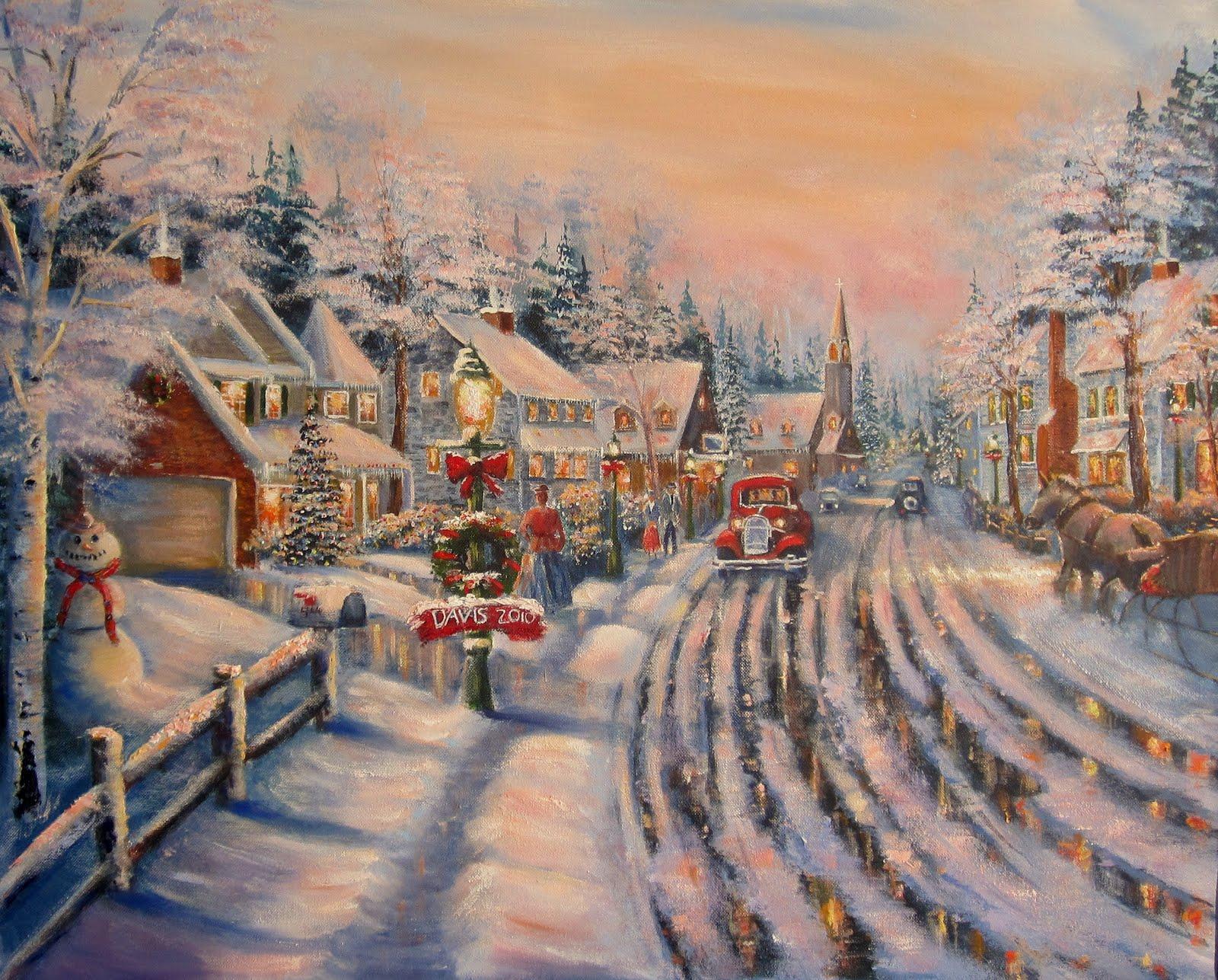 Hd Christmas Wallpapers 1080p Christmas Art Wallpapers High Quality Download Free