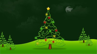 Christmas Tree Wallpapers High Quality | Download Free