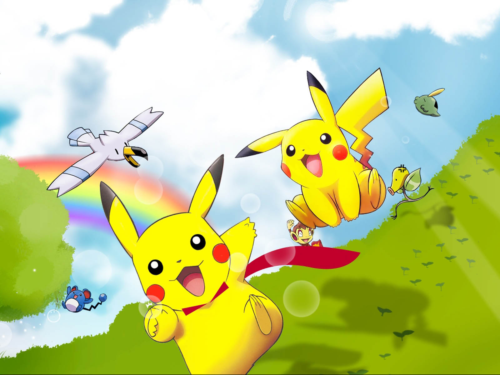 Cute Anime Girl Wallpaper Hd For Android Pikachu Wallpapers High Quality Download Free