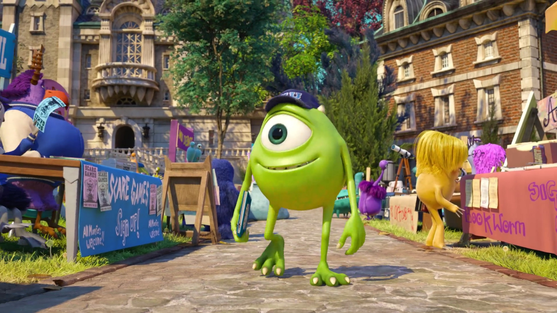 Monster Inc Wallpaper Iphone 6 Monsters University Wallpapers High Quality Download Free