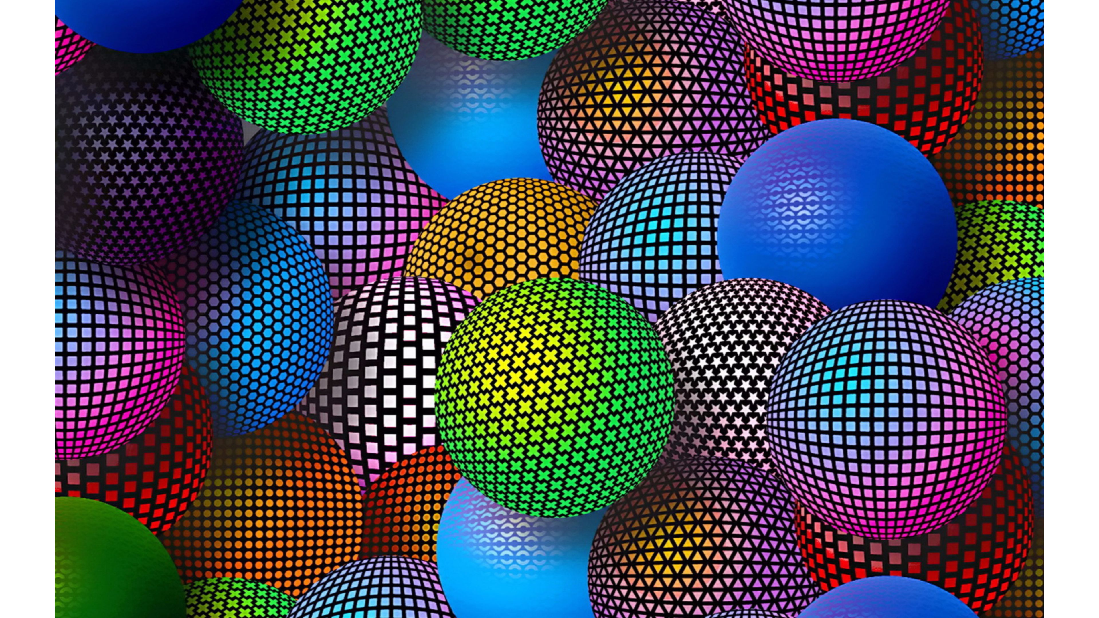Hq 3d Wallpapers Free Download 4k Balls Wallpapers High Quality Download Free