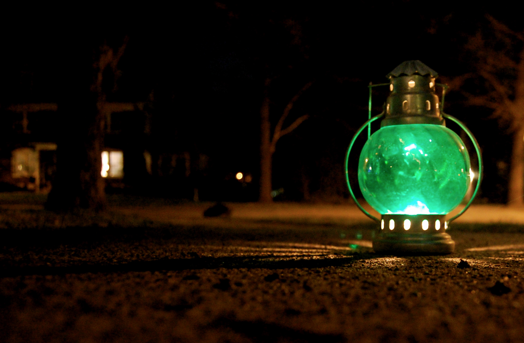 Lantern Lights Wallpaper Green Light Wallpapers High Quality Download Free