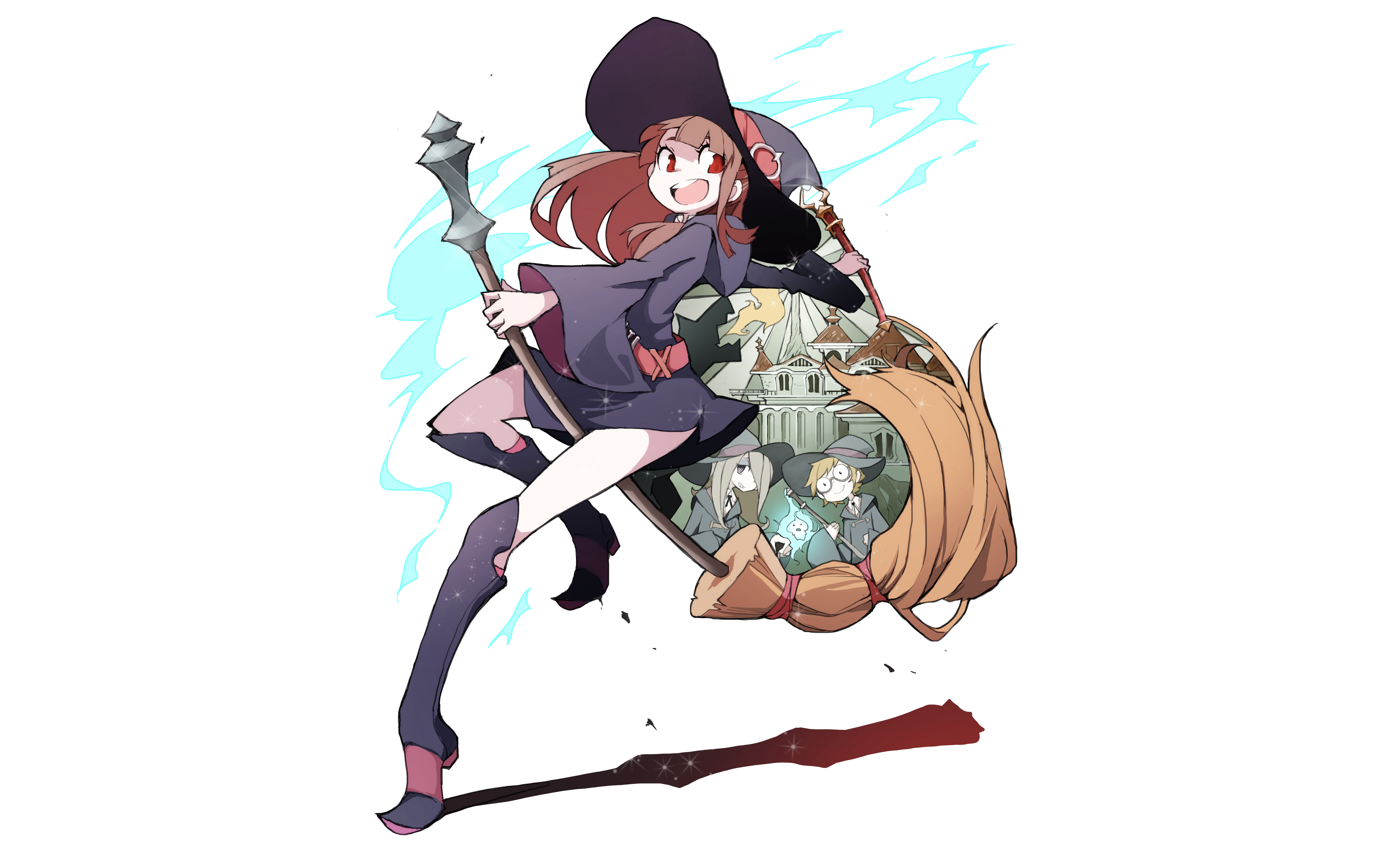 My Hero Academia Wallpaper Iphone X Little Witch Academia Tv Wallpapers High Quality
