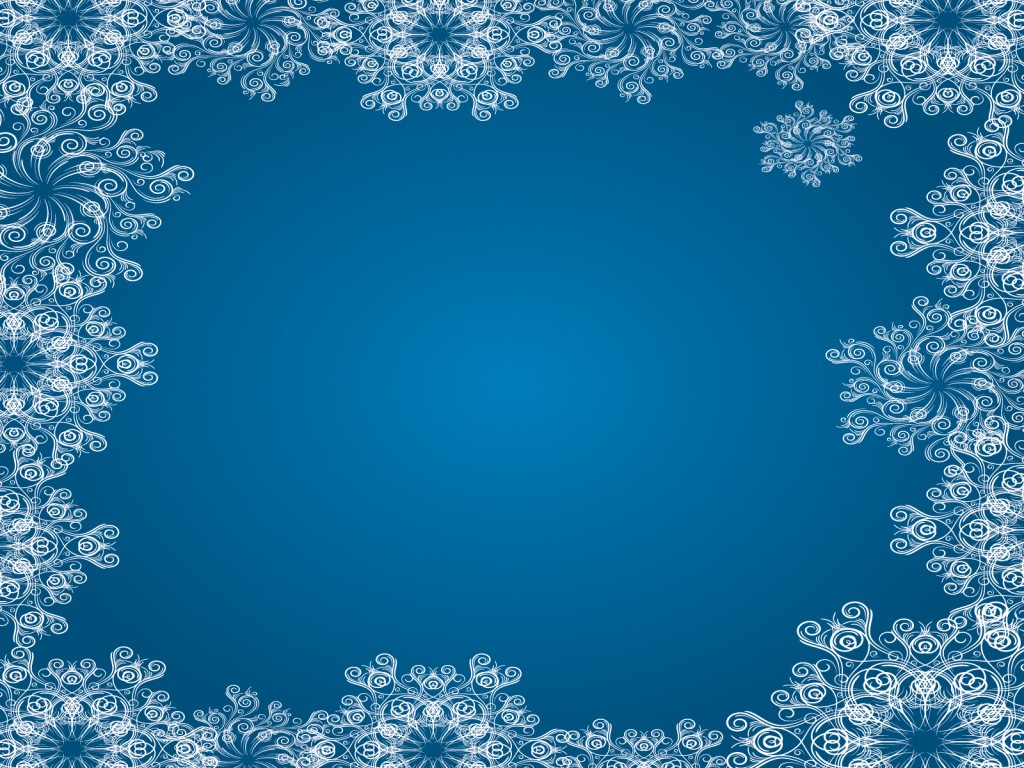 snowflake powerpoint templates