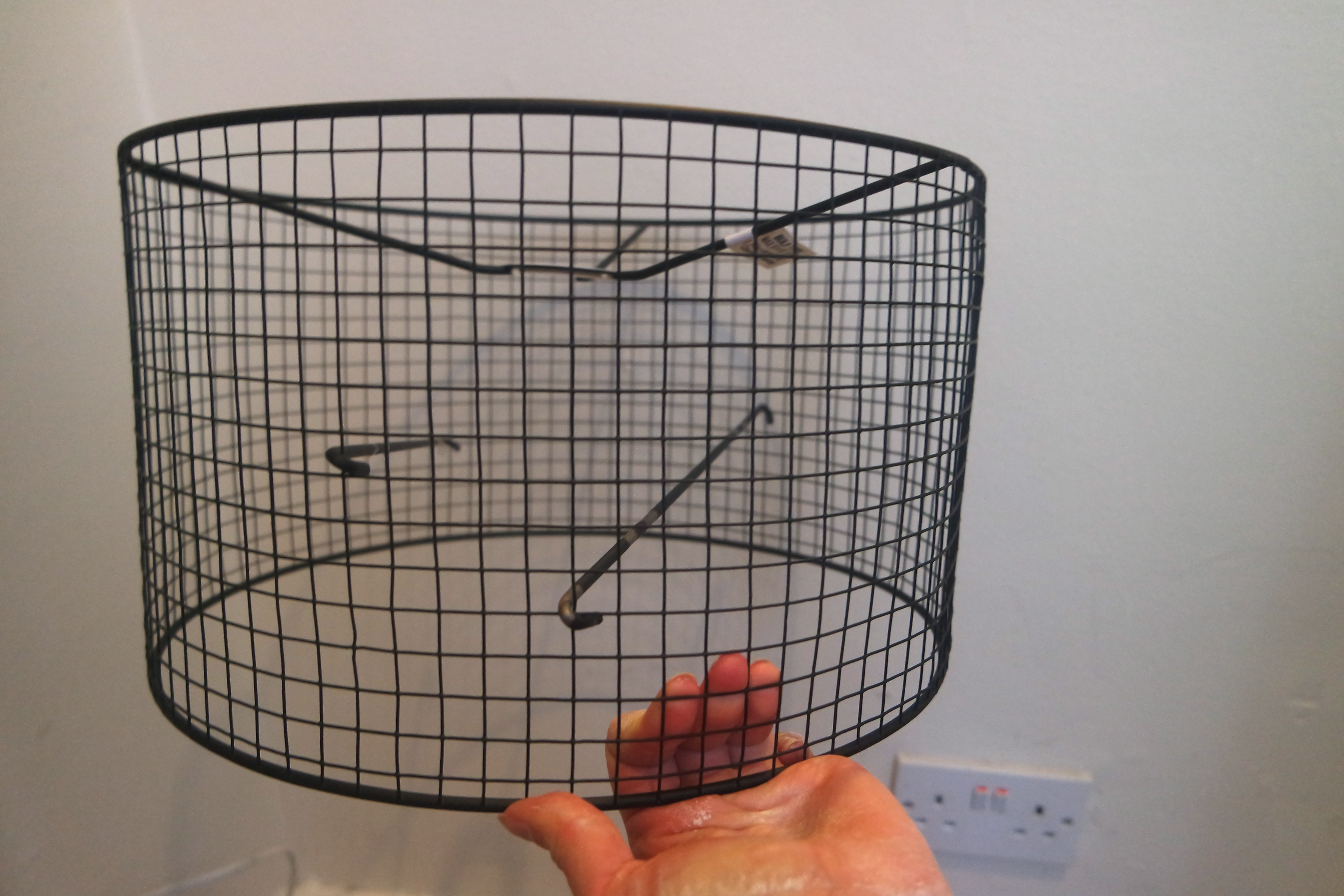 How To Build A Floor Lamp Fun And Easy Diy Birdcage Lampshade Yes Please