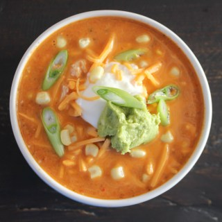 Chicken Enchilada Soup | Yes to Yolks