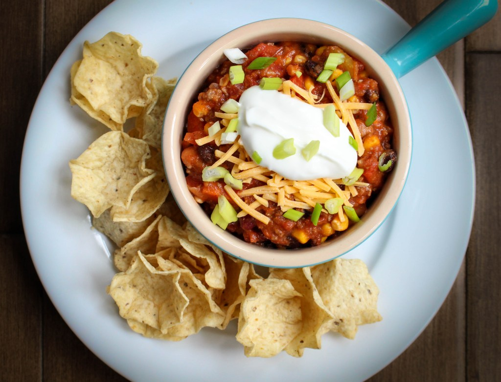 Beef & Three-Bean Chili | Yes to Yolks