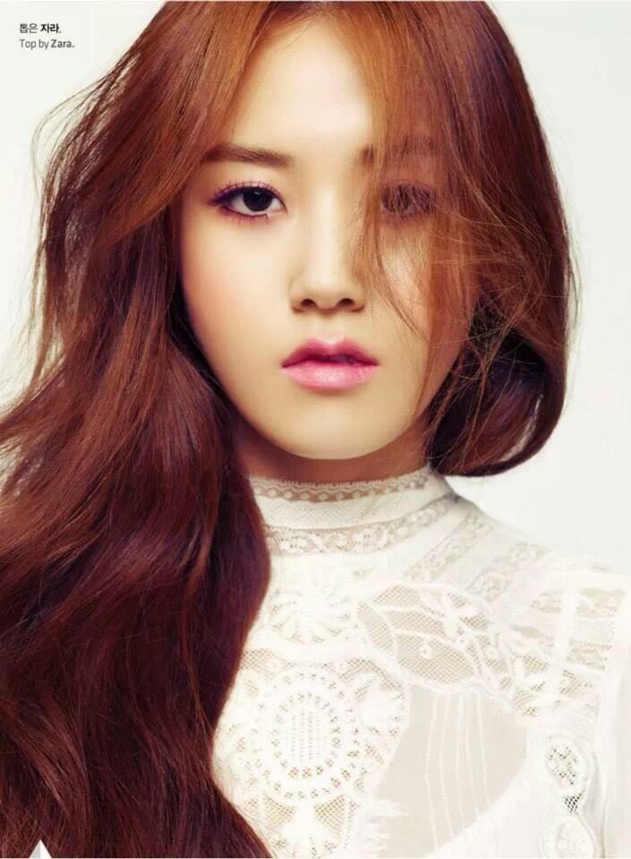 Taeyeon Cute Wallpaper Gayoon 4minute Di High Cut Magazine Vol 121 Korean News