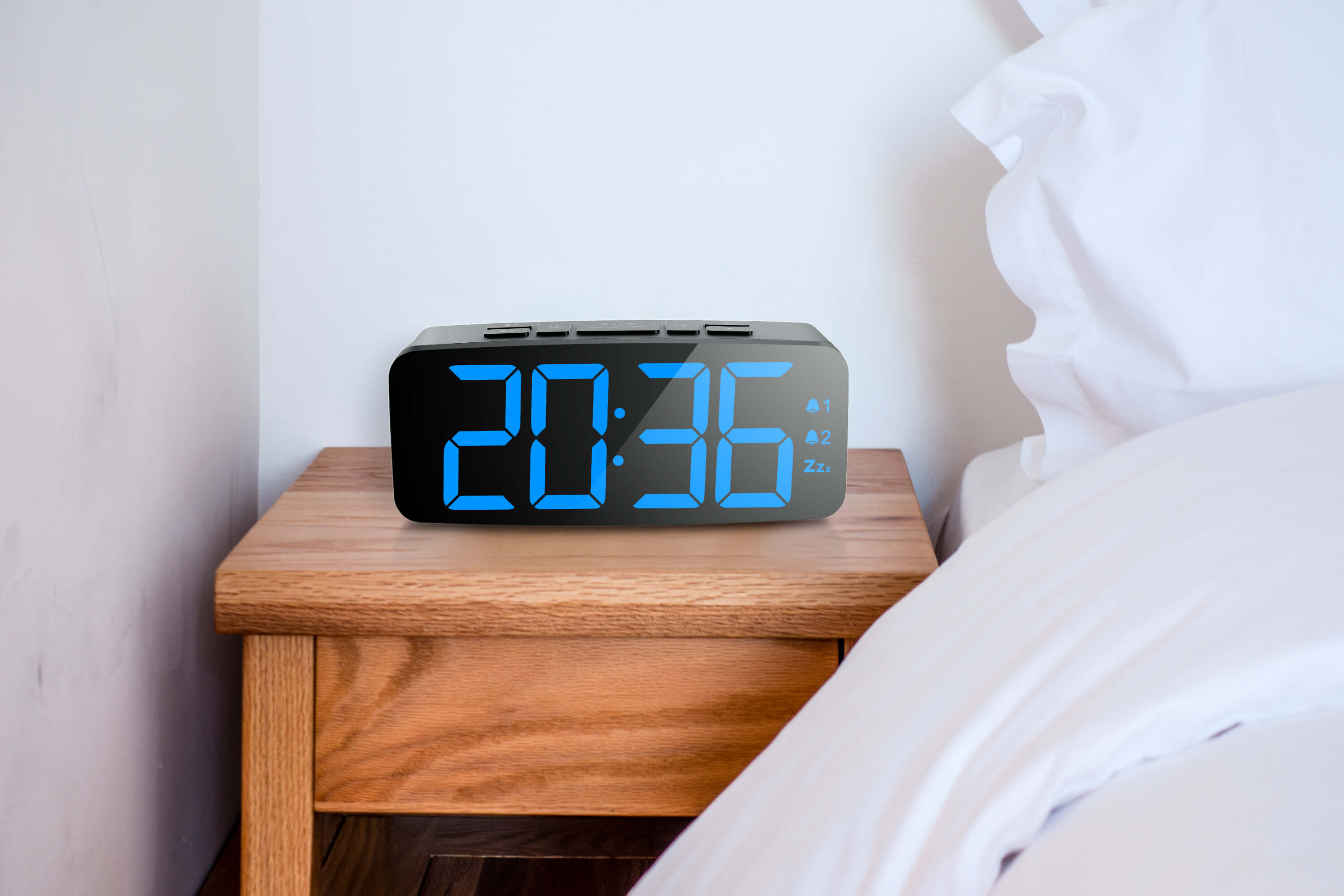 Bedside Alarm Clock Digital Buy Wireless Weather Station Digital Alarm Clock Air