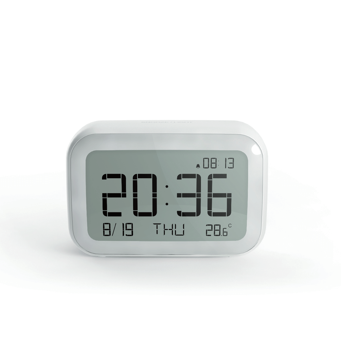 Digital Desk Clock Wireless Weather Station Digital Alarm Clock Air Quality