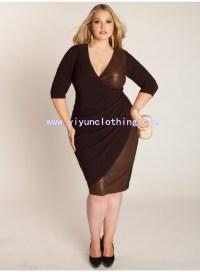 mature woman's formal plus size dresses