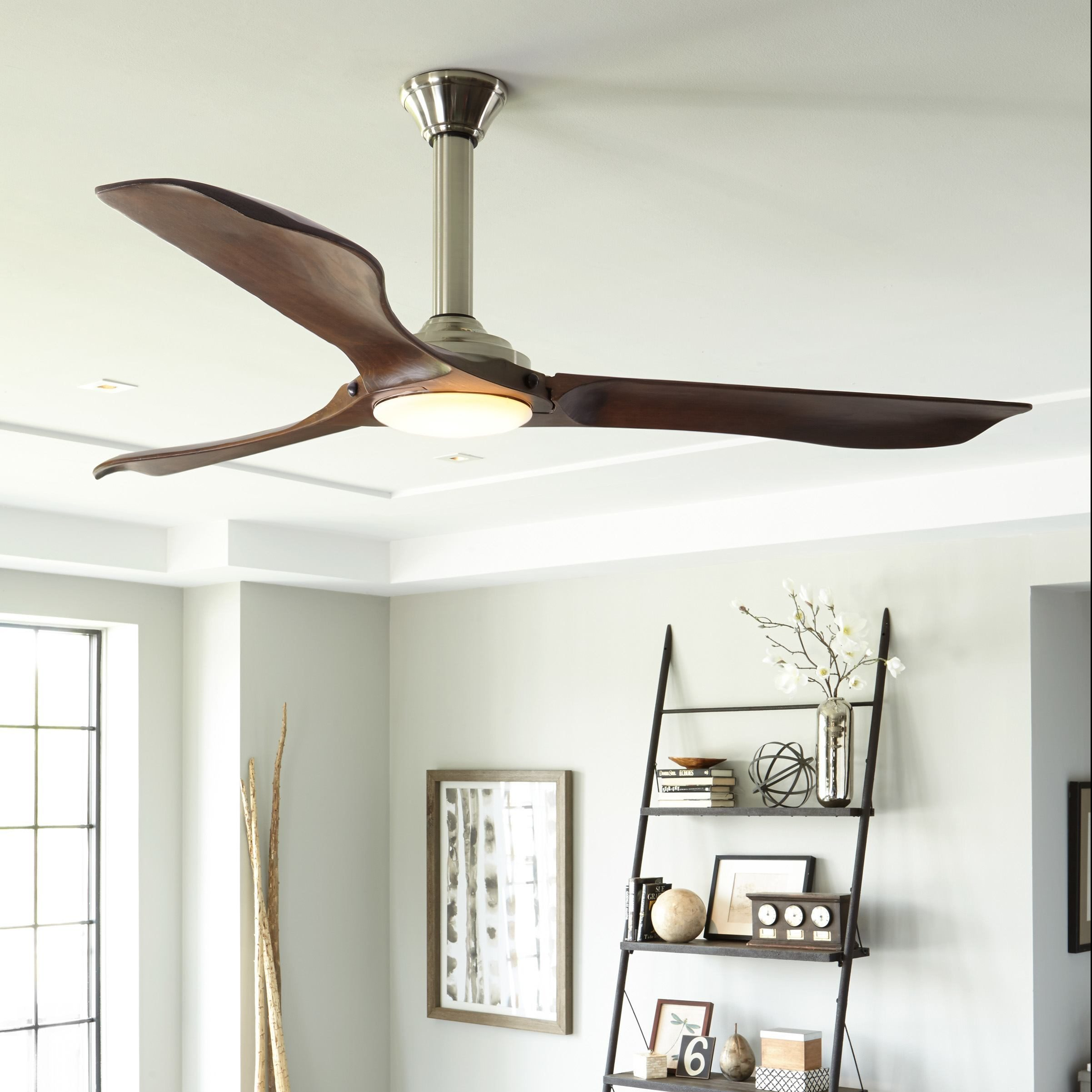 Best Ceiling Fans For Small Rooms How To Choose A Ceiling Fan Size Guide Blades Airflow