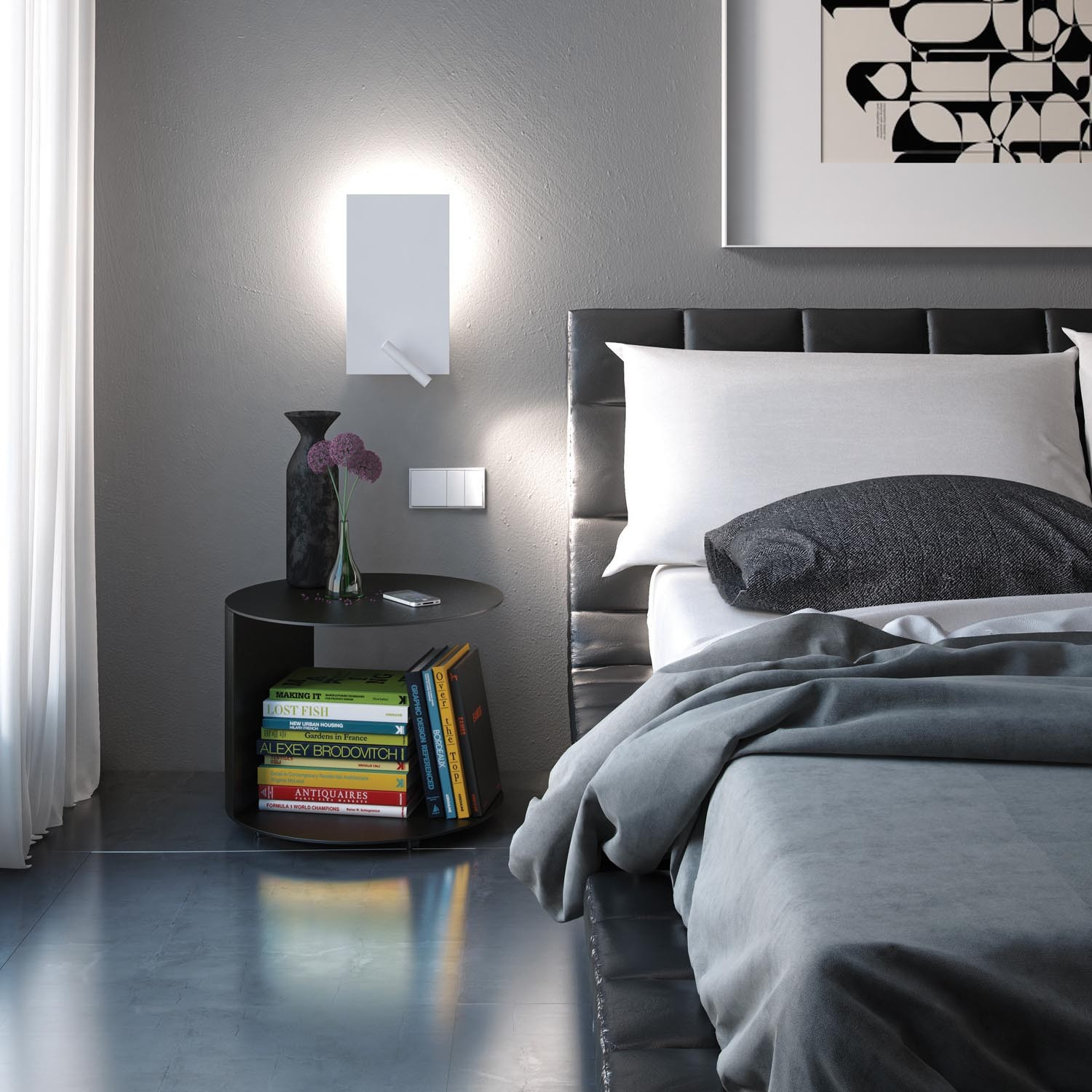 Modern Bedside Lights On Trend Wall Sconces In The Bedroom Design Necessities