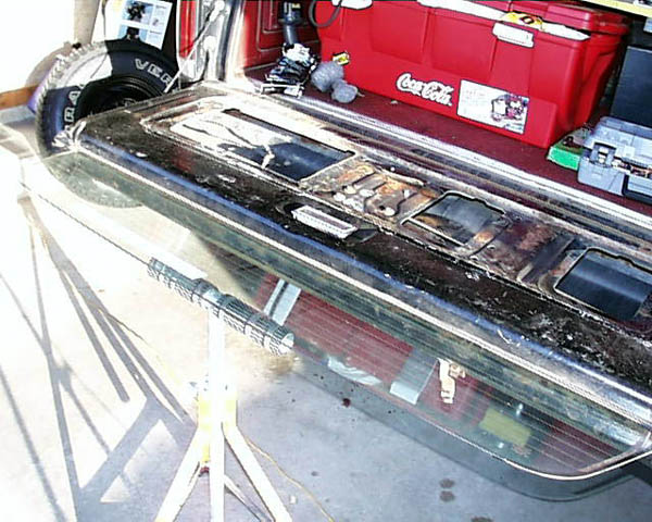 fixing the rear window motor - Ford Bronco Forum