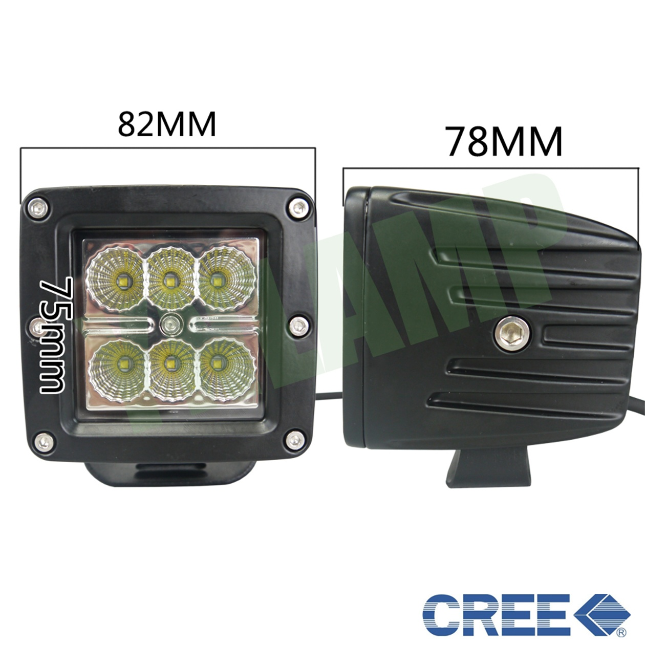 12v Ip67 12v Ip67 3inch 18w Offroad Light Led Work Light