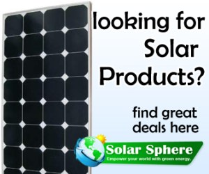 Looking for solar products