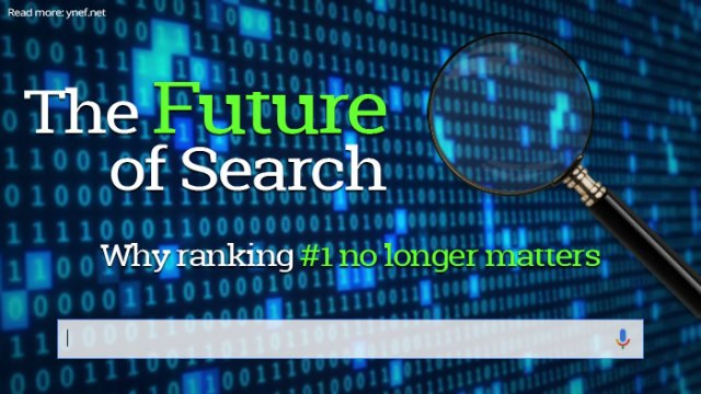 Future of search and why ranking number one no longer matters that much