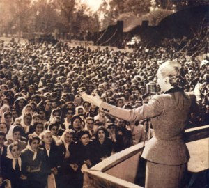 Eva Perón Política