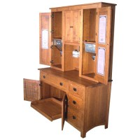 Mission Hoosier Cabinet - Yoder Handcrafted Mission Furniture