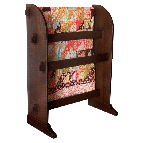 Quilt Rack Yoder Handcrafted Mission Furniture