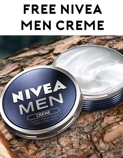 FREE NIVEA Men Creme Sample Verified Received By Mail - Yo! Free