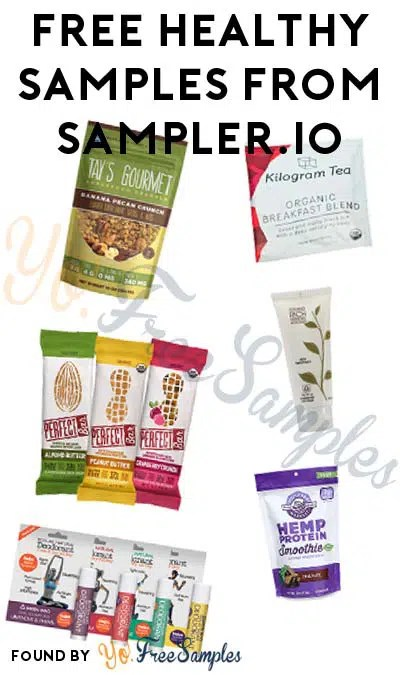 LAST DAY FREE Women\u0027s Health Week Sampling Event List From - product list samples