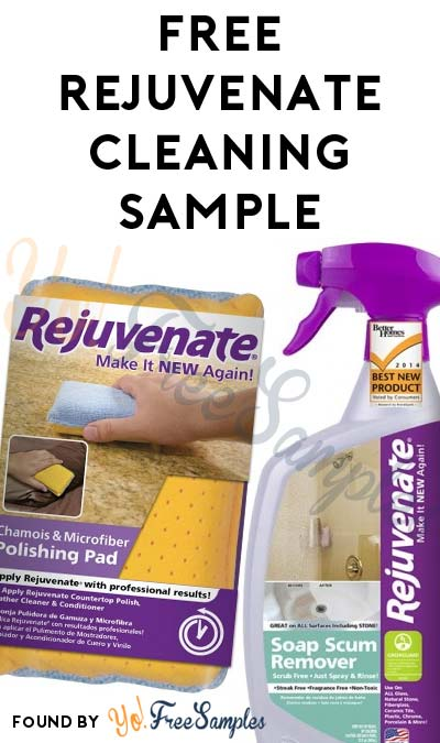 FREE Rejuvenate Cleaning Product Sample - Yo! Free Samples