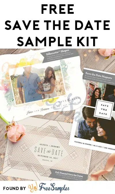FREE Save The Date Sample Kit With Magnet, Postcard  More - Yo