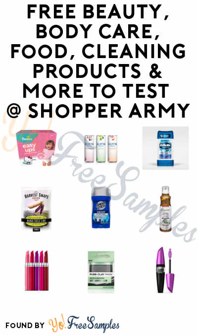 More FREEBATES Added FREE Beauty, Body Care, Food, Cleaning - free samples of cleaning products