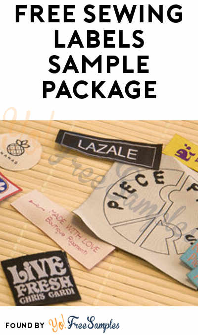 FREE Dutch Sewing Labels Sample Package Verified Received By Mail