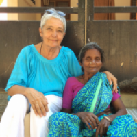 Annelie Etter gründete ein Heim für obdachlose Witwen in Indien am Arunachala!