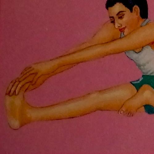 Yoga für die Gelenke - Pawanmuktasanas sind uralte subtile Yoga Übungen