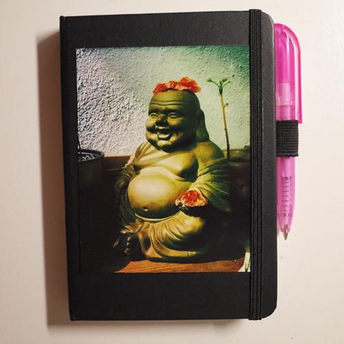 """""""Buddha"""" Skizzenbuch und yoga-diary in einem"""