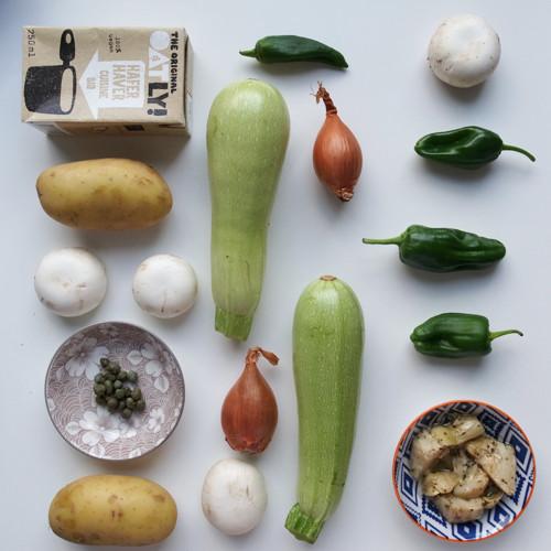 Etwas für die kalten Tage - eine vegane Quiche (Frankreich)