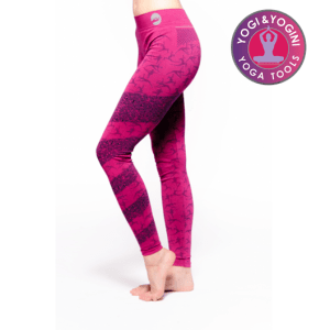 Yoga-legging Ashtanga roze M-L